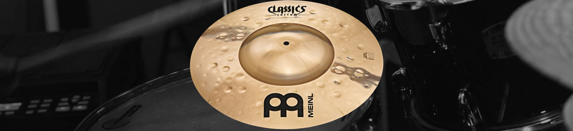 Nowy ride Meinl Classics Custom Extreme Metal