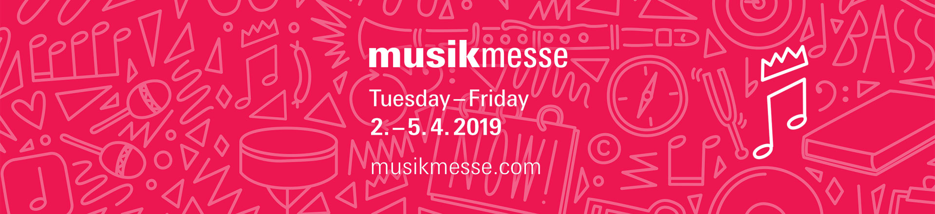 Informator: Musikmesse / Prolight + Sound 2019
