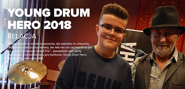 RELACJA: Young Drum Hero 2018