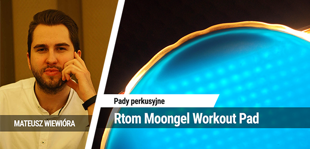 Pad perkusyjny Rtom Moongel Workout Pad 7""