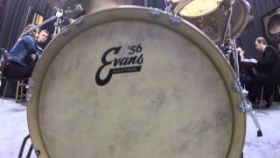 NAMM 2016 - Evans Calftone Drumheads | GEAR GODS