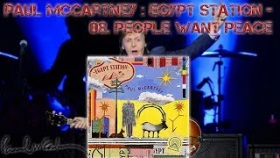 Paul McCartney :  Egypt Station - 08. People Want Peace