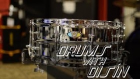 "Ludwig Supralite 14x5.5"" Steel Snare - Drums With Oisín"